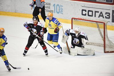 Челябинская молодежная команда МХЛ Белые медведи в повторном матче матче обыграла казанский Ирбис.