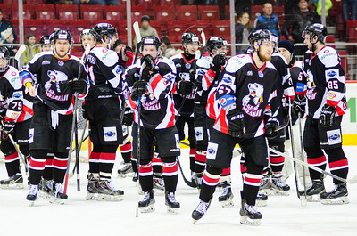 В Санкт-Петербурге состоялся первый матч полуфинальной серии Кубка Харламова между местной командой СКА-1946 и челябинской командой Белые медведи.