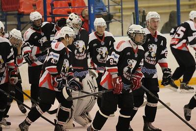 Молодежная челябинская команда МХЛ Белые медведи проиграла на Кубке Чернышева ХК МВД со счетом 2:3.