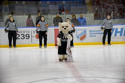 Белые Медведи (Челябинск) - Снежные Барсы (Астана) 4:2. 16 октября 2015