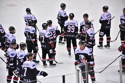 Челябинская молодёжная команда МХЛ Белые медведи завершила сезон крупной победой над Олимпией из Кирово-Чепецка.