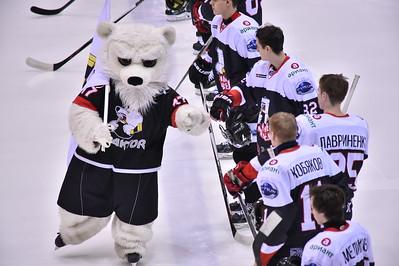 Белые Медведи (Челябинск) - Стальные Лисы (Магнитогорск) 1:3. 21 февраля 2016