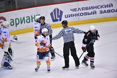 Челмет (Челябинск) - Стальные Лисы (Магнитогорск) 1:4. 21 апреля 2016