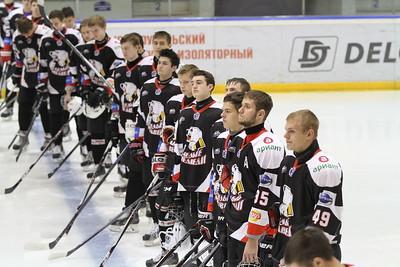 Белые Медведи (Челябинск) - Омские Ястребы (Омск) 0:1. 24 августа 2015