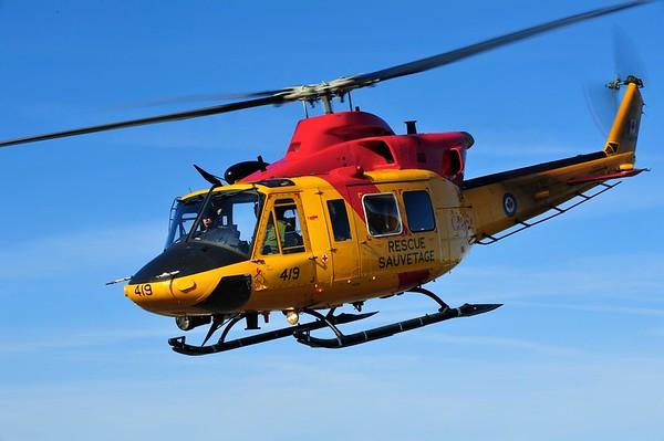 Mike Reyno, CH146 Griffon, RCAF