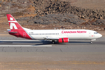 Brian Tattuinee, B737-400, Canadian North