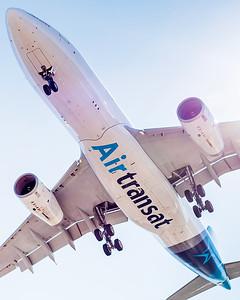 John Chung, A330, Air Transat
