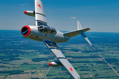 Mike Reyno, MiG-15, Waterloo Warbirds