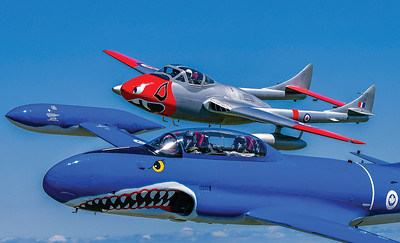 Mike Reyno, CT-133 Silver Star and T55 Vampire, Waterloo Warbirds