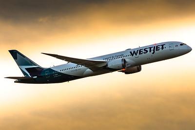 Rinat Haque, B787-9 Dreamliner, WestJet