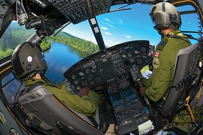 Mike Reyno, CH-146 Griffon, RCAF