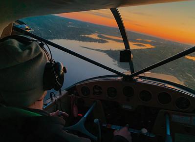 Dave England, Cessna 170B