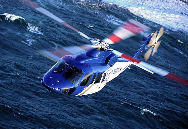 Skip Robinson, S76, Helinet Aviation