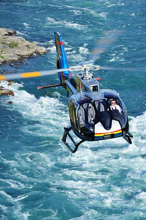 Mike Reyno, H130, Niagara Helicopters