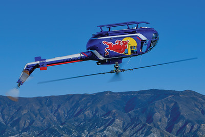 Mike Reyno, BO-105 CBS, Red Bull