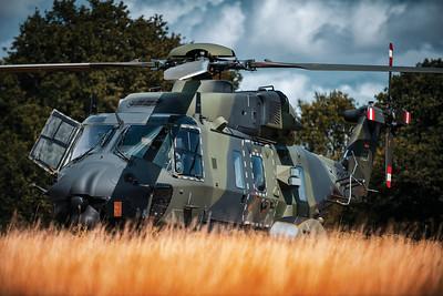 Lloyd Horgan, NH90, Bundeswehr