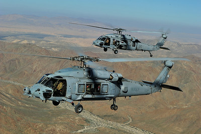 Skip Robinson, HH-60H and MH-60S Seahawk, US Navy
