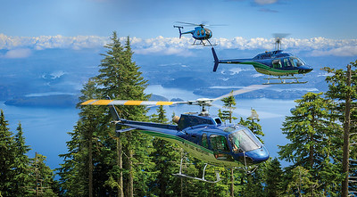 Heath Moffatt, AS350B2 AStar, MD500D and Bell 206B JetRanger III, West Coast Helicopters
