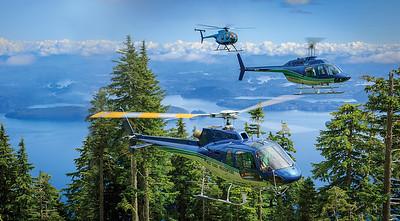 Heath Moffatt, AS350B2 AStar, MD500D and Bell 206B JetRanger III, West Coast Helicopters