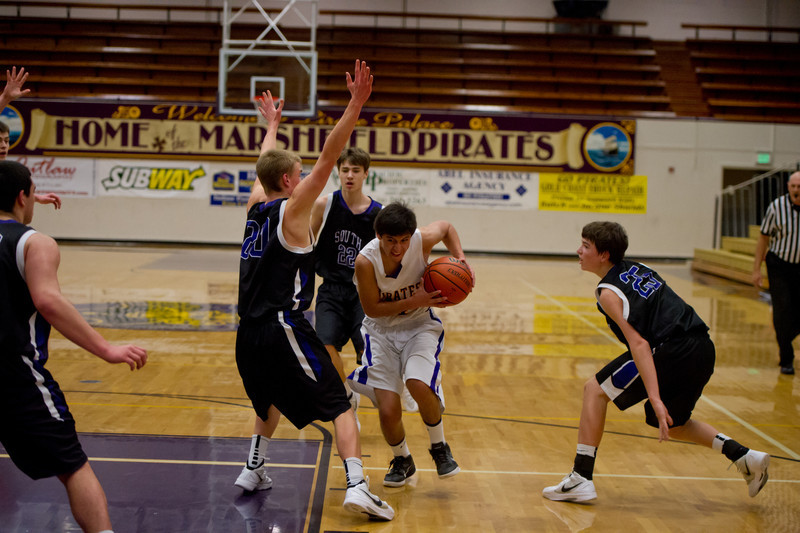 2012 MHS JV BOYS BB vs SE