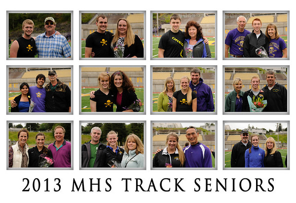 2013 MHS TRACK vs WILLAMETTE