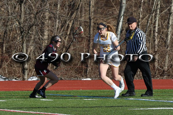 MHS Varsity Girls LAX vs. Kingston 3/28/17