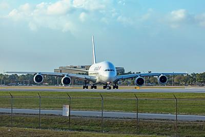 Air France Airbus A380-861 F-HPJE 2-13-20