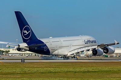 Lufthansa Airbus A380-841 D-AIMC 2-13-20