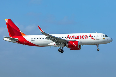 Avianca Airbus A320-251N N762AV 2-13-20