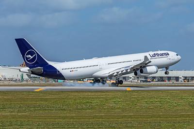 Lufthansa Airbus A340-313 D-AIGX 2-13-20