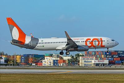 GOL Transportes Aéreos Boeing 737-8EH PR-GTH 2-13-20