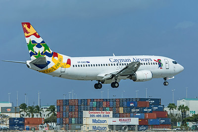 Cayman Airways Boeing 737-36E VP-CKZ 2-13-20 2