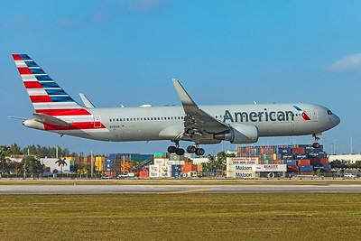 American Airlines Boeing 767-323(ER) N393AN 2-13-20