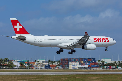 Swiss Airbus A330-343 HB-JHH 2-13-20
