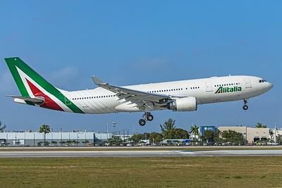 Alitalia Airbus A330-202 EI-EJI 2-13-20