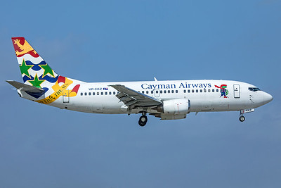 Cayman Airways Boeing 737-36E VP-CKZ 2-13-20