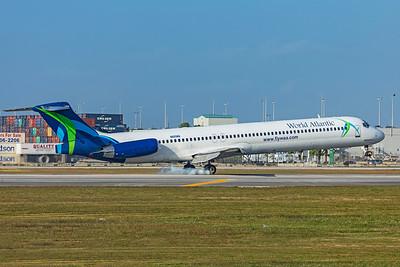 World Atlantic Airlines McDonnell Douglas MD-83 N805WA 2-13-20