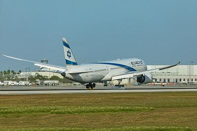 El Al Israel Airlines Boeing 787-9 Dreamliner 4X-EDE 2-13-20