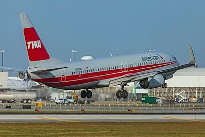 American Airlines Boeing 737-823 N915NN 2-13-20