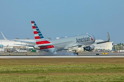 American Airlines Boeing 767-323(ER) N342AN 2-13-20