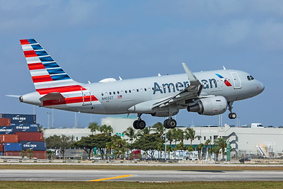 American Airlines Airbus A319-115 N4032T 2-13-20