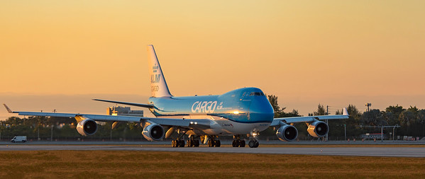KLM Royal Dutch Airlines Boeing 747-406F(ER) PH-CKC 1-23-21
