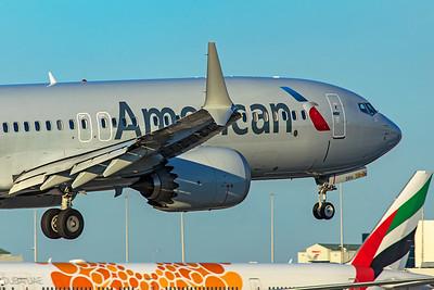 American Airlines Boeing 737-8 MAX N314RH 1-23-21