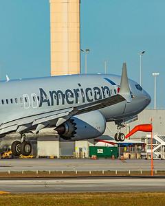American Airlines Boeing 737-8 MAX N339SU 1-23-21