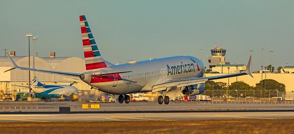 American Airlines Boeing 737-8 MAX N316SE 1-23-21