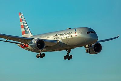 American Airlines Boeing 787-8 Dreamliner N800AN 1-23-21