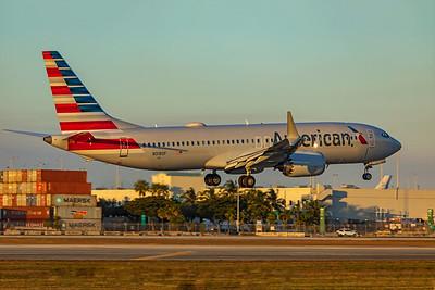 American Airlines Boeing 737-8 MAX N318SF 1-23-21