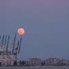 Moonrise, Port Miami