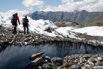 MICA Guides Crossing a Moraine
