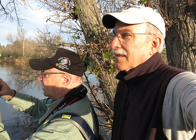 With fellow photographer and friend Ken Fanelli